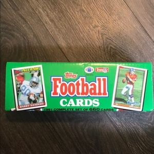 Topps 1991 (Complete Set) NFL Football Cards